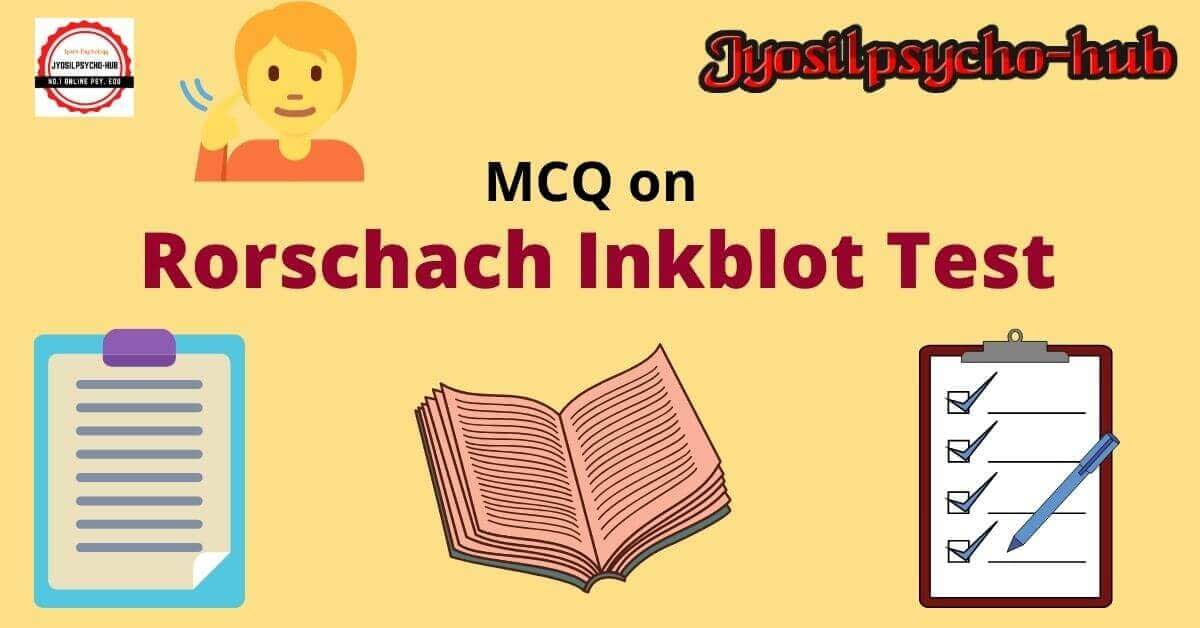Rorschach Inkblot Test (Jyosilpsycho-hub)