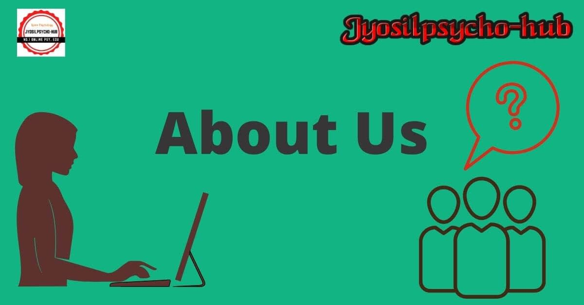 About us page (Jyosilpsycho-hub)