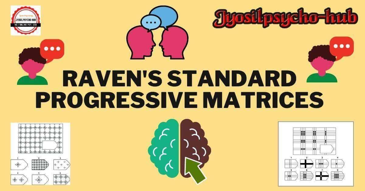 Raven's standard progressive matrices (Jyosilpsycho-hub)